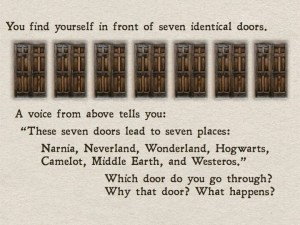 Narnia, Neverland, Wonderland, Hogwarts, Camelot, Middle Earth or Westeros - which would you choose?