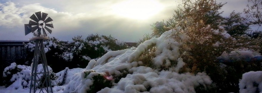 Murrieta, CA snow on Dec 31, 2014