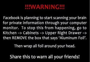 Facebook Privacy Settings Hoax Humor