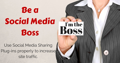 Be the Boss of Your Social Media Sharing Plugin