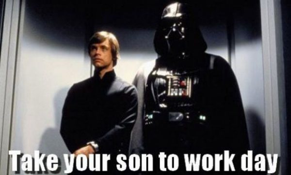 Happy Father's Day, Darth Vader! Friday Frivolity Link Party ...