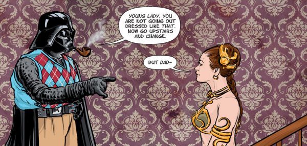 Darth-Vader-Dad-Does-Not-Approve-Of-Princess-Leias-Outfit-For-The-Night
