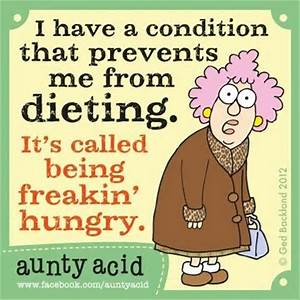 Dieting Funnies - a collection of funny dieting memes. food humor.