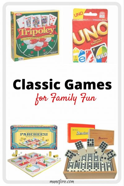 Time for Family Fun with These 8 Great Old School Games