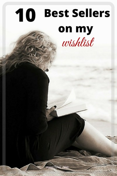 10 best sellers on my wishlist - books on my wishlist including mysteries, romance, classic and cookbooks