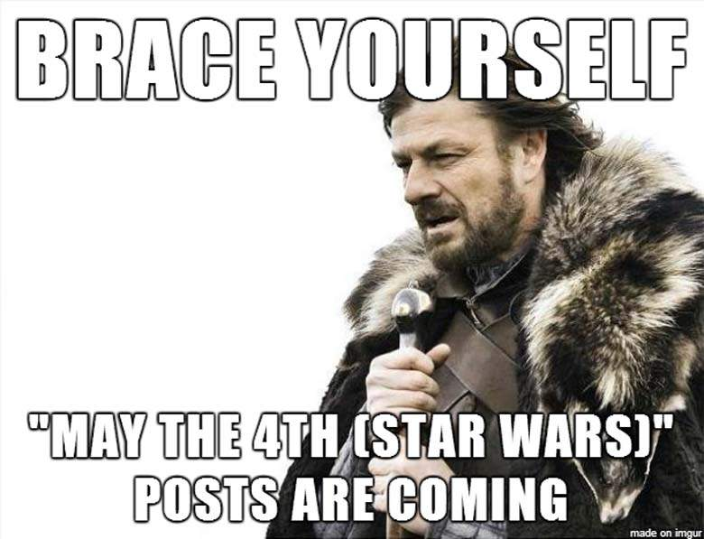 may the fourth 4th be with you memes gifs star wars day 12?resize=600%2C459 happy star wars day! may the 4th be with you (friday frivolity