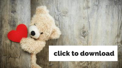 teddy bear with heart
