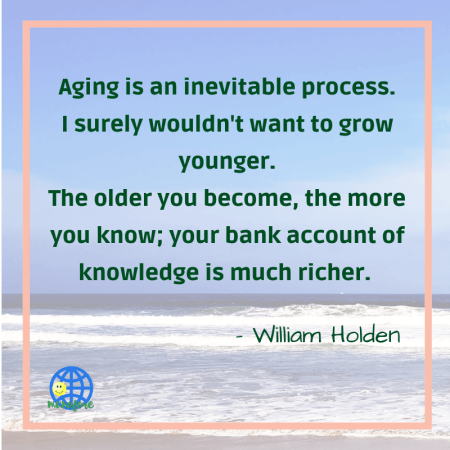 healthy aging quote