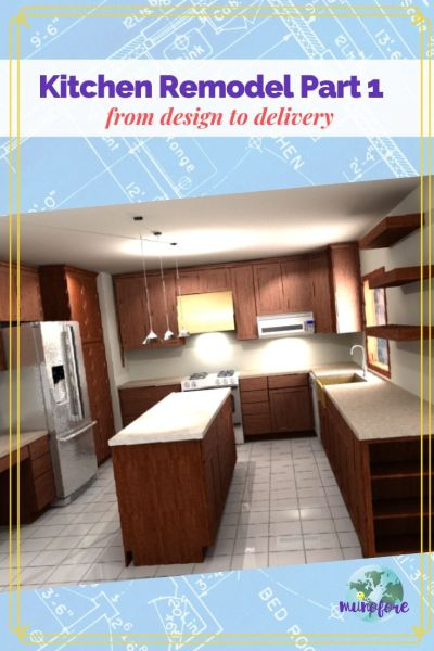 A kitchen remodel can be a long complicated and stressful process. Learn what to expect before you begin.  Part 1 from design to delivery. #kitchenremodel #homeremodel #kitchendesign #remodeldisaster #kitchenrenovation #homeimprovement #munoforeblog