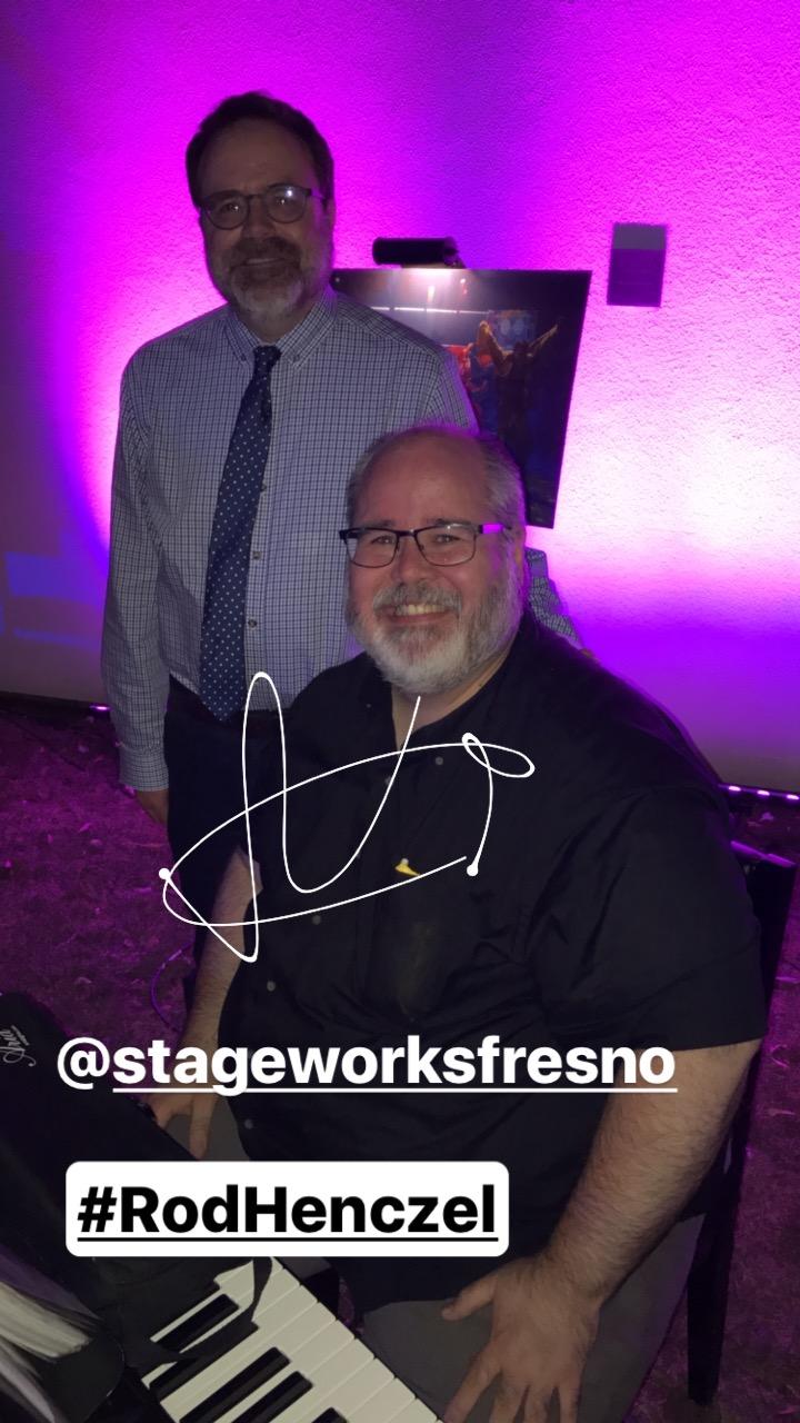 Rod Henczel | StageWorks Fresno | Theatre Under the Stars | Photo / MunroReview.com