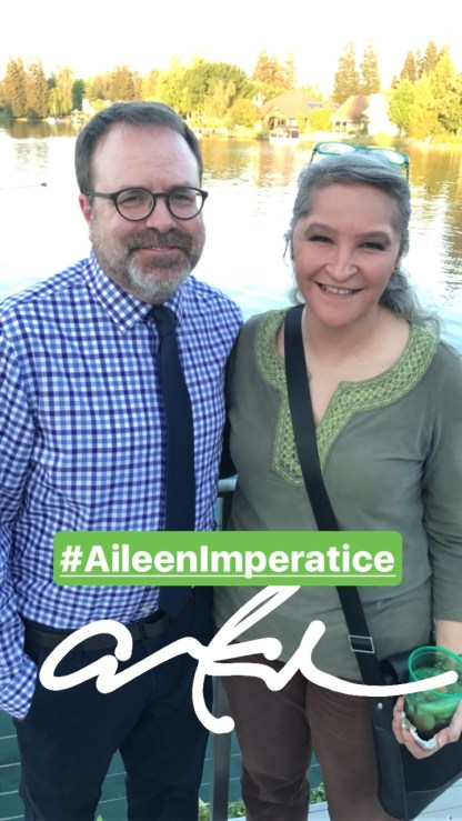 Summer Arts kickoff party: Aileen Imperatrice.