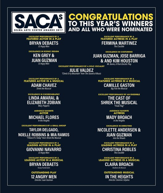 saca awards