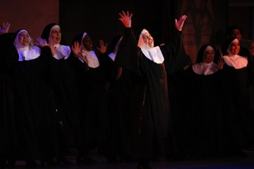 """Sing to the rafters: Ethel Birrell in """"Sister Act."""""""