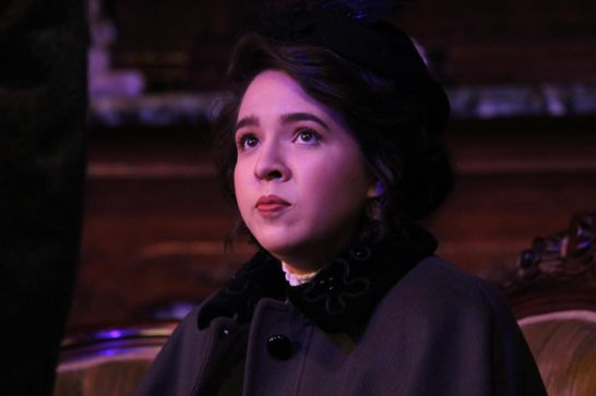 "Mystery woman: Marikah Christine Leal as Laura Lyons in ""The Hound of the Baskervilles."" Photo / Good Company Players"