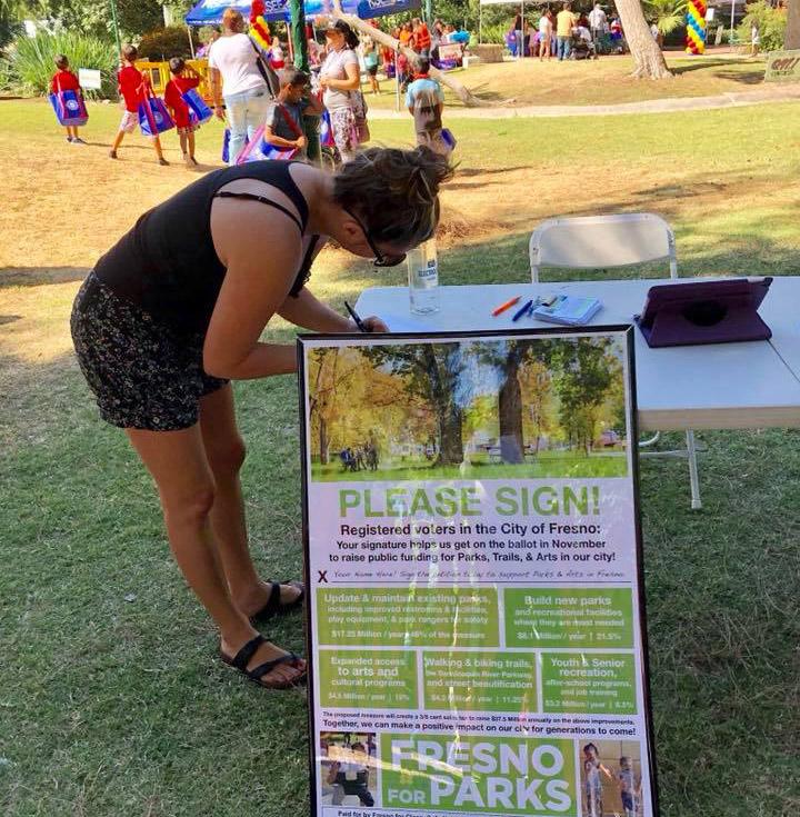 parks petition