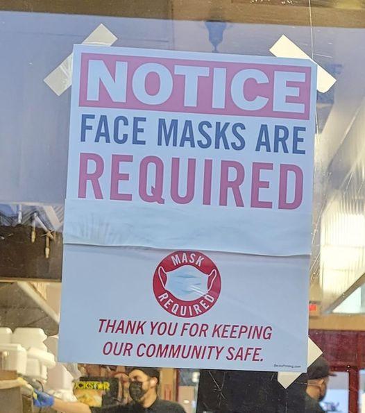 drive thru face mask
