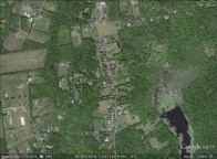 Haycock, Pennsylvania aerial. From Google Earth.