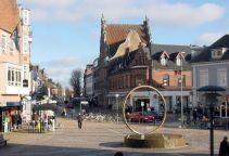 Public square in Hjørring, Denmark. From en.wikipedia.org/wiki/File:Hjoerring_2004_3_ubt.jpg.