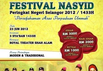 Festival Nasyid Selangor.