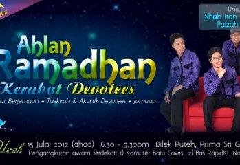 Santai Usrah & Ahlan Ramadhan Bersama Devotees
