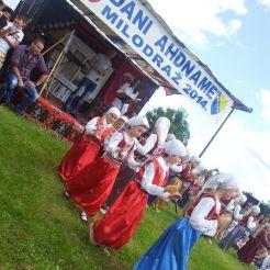 Sambutan ulangtahun perintah (ahdname) Sultan Muhammad Alfateh di Milodraj, Bosnia pada 28 Mei 2014.