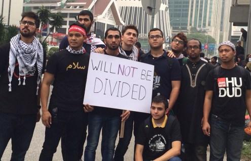#WilNotBeDevided