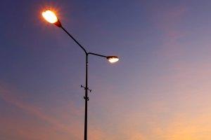 К городскому освещению подключена новая линия наружного освещения