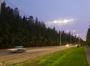 МУППЭС продолжает работы по модернизации наружного освещения в городе Петрозаводске