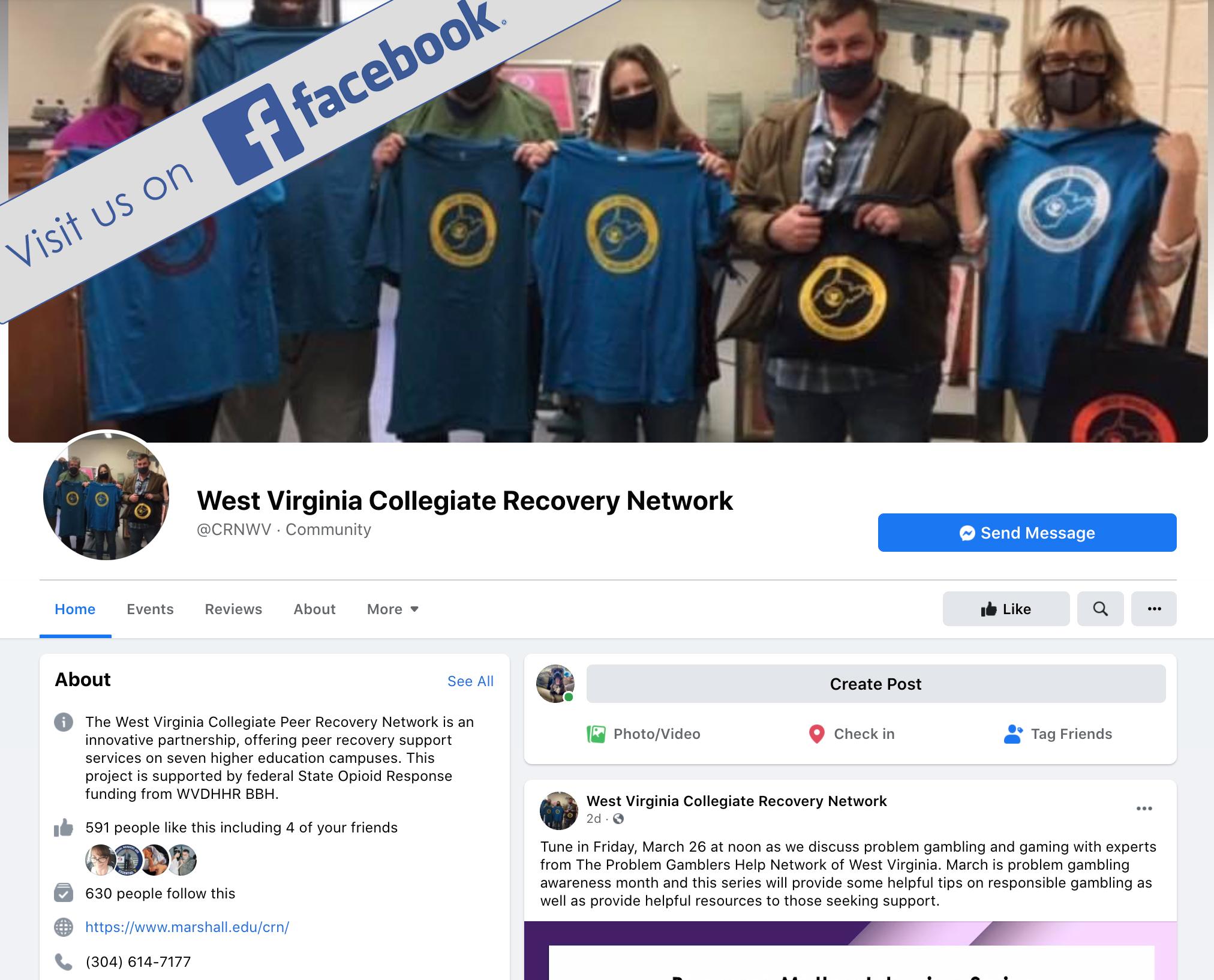 WVCRN on FB