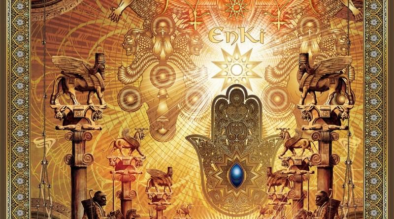 Capa do disco Enki da banda Melechesh