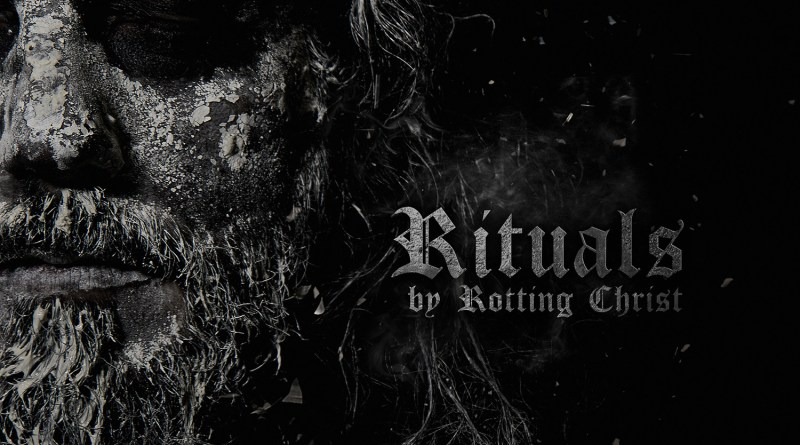 Capa do disco Rituals da banda Rotting Christ