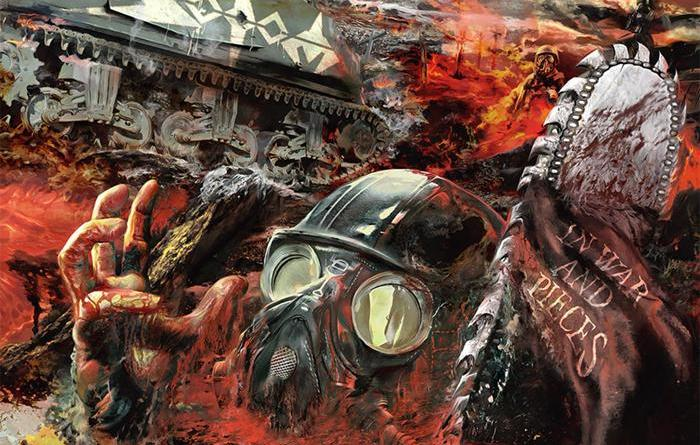Capa do disco War In Pieces da banda Sodom