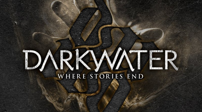 Capa do disco Where Stories End da banda Darkwater