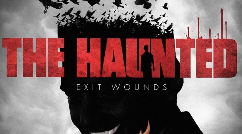 Capa do disco Exit Wounds da banda The Haunted