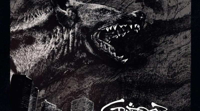 Capa do disco Hyena da banda Cripper