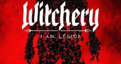 Capa do disco I Am Legion da banda Whitchery