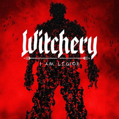 Capa do disco I Am Legion da banda Whitchery