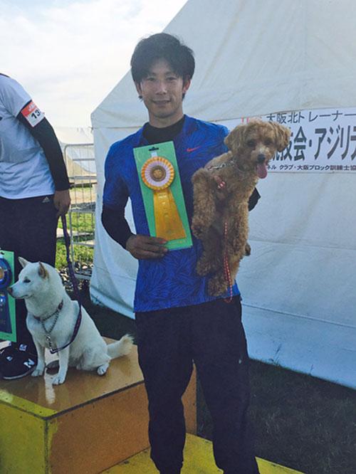 家庭犬特別犬の部入賞3席