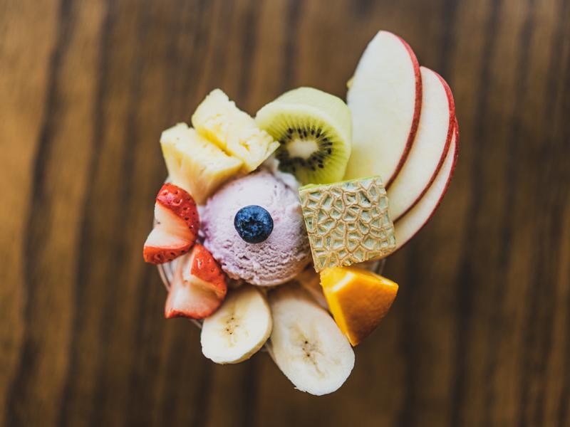 えびすやフルーツのフルーツパフェ