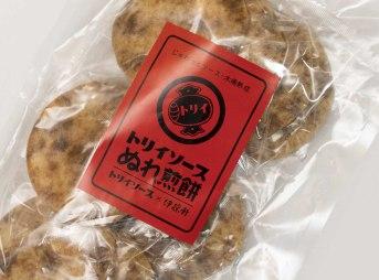 トリイソースぬれ煎餅(鳥居食品株式会社)