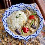 アジアンキッチン更紗屋のパナンカレーライス