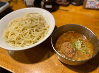 フジヤマ55の濃厚つけ麺