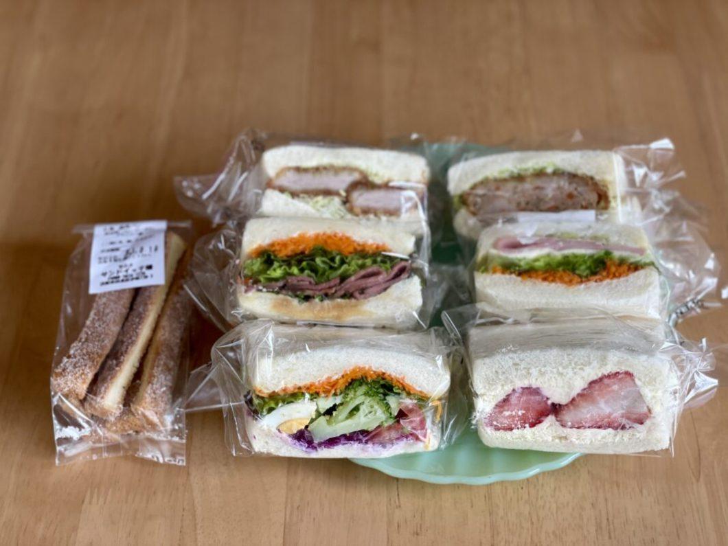 サンドイッチ畑のサンドイッチ