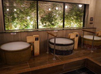 かじまちの湯SPA SOLANIの大浴場