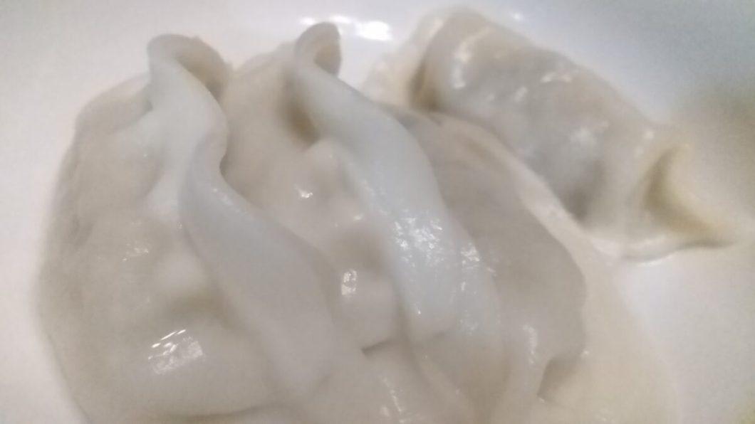 餃子八幡 水餃子完成