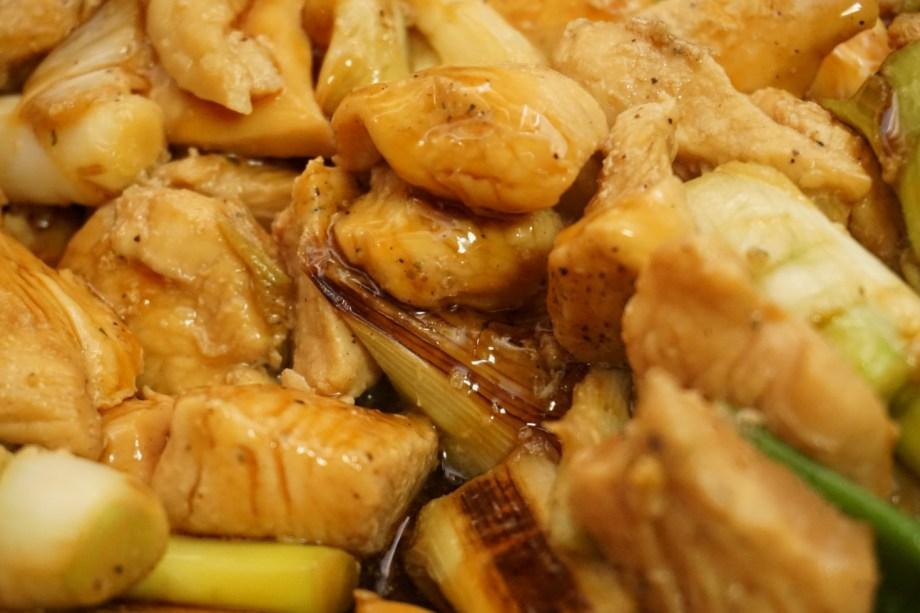 鶏むねレシピ料理 やきとりどん