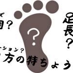 靴のサイズやワイズを参考に自分に合うシューズを選ぼう