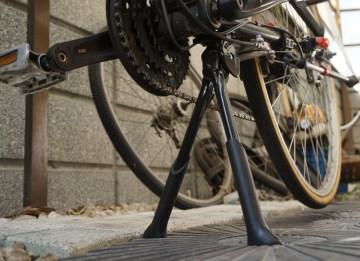 自転車を快適にする「センタースタンド」は通勤にベンリ
