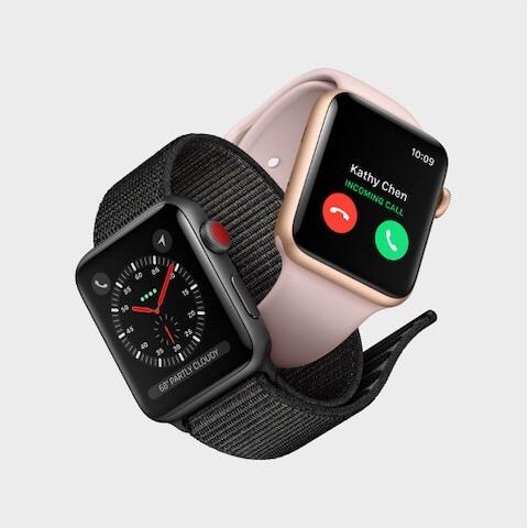 Apple Watch Series 3のGPSモデルを選んでみて。