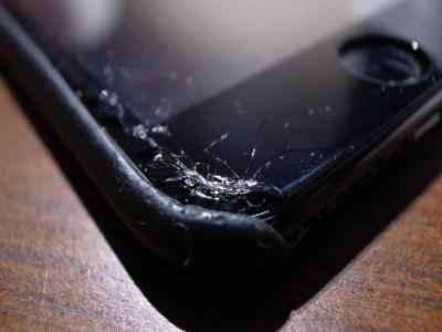 iPhoneの画面が割れた!!と思ったら・・・